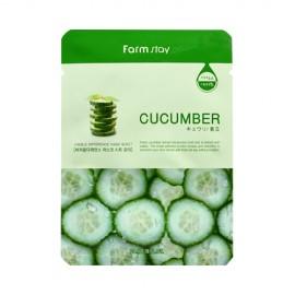 Farm Stay Cucumber 青瓜面膜  商品簡介 含青瓜精華成分,對抗自己基,抗氧、鎮定保濕,减少肌膚病毒素,美白保水。10pcs(bag)