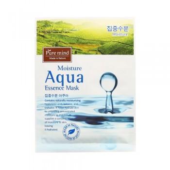 韓國 Pure mind 保濕Mask  蘊含具天然保濕作用的透明質酸,甜菜鹼和海藻醣成份,能瞬間為肌膚提升水分。10pcs(box)